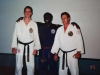 Prof Don Jacobs with Kyoshi Reg Ellis