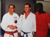 Prof Wally Jay, Prof Don Jacobs with Kyoshi Reg Ellis