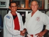 Grand Master Eric Koe with Kyoshi Reg Ellis